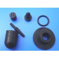 Wholesale Black Molded Custom Rubber Parts , Rubber Spare Parts for Automotive or Truck from china suppliers
