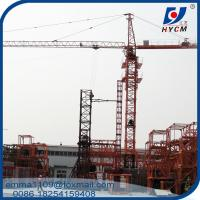 Buy cheap 6t QTZ6012 Self Climbing Topkit Tower Crane 60mts Boom with Tower Head from wholesalers