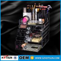 Wholesale China new products acrylic makeup display, acrylic makeup box, acrylic makeup storage boxes from china suppliers