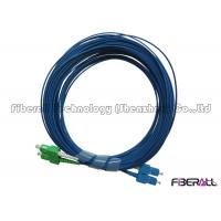 Wholesale 2.0x4.1mm Duplex Fiber Patch Cord SC/LC Fiber Optic Jumper With SM Blue Cable from china suppliers