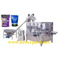 Wholesale Automatic milk powder whey protein powder zip lock bag doypack packaging equipment from china suppliers