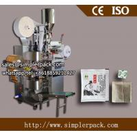 Wholesale Multi-function Tea Bag Filling and Sealing Machine With Outer Envelop Direct Manufacturer from china suppliers
