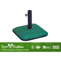 Wholesale Pool / Yard Small Patio Umbrella Base Stand Moisture - Proof 2 Year Warrantee Promise from china suppliers