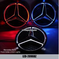 Wholesale Mercedes-Benz CLA200 CLA250 CLA260 LED Light Badge decal emblem lamp from china suppliers