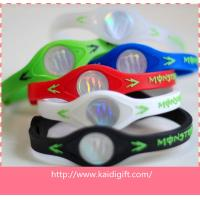 Wholesale Charms Silicone Accesseries Energy Bracelets Ion Band As Gift from china suppliers