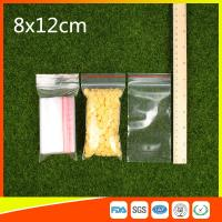 Wholesale Ldpe Plastic  Reusable Ziplock Bags 8x12 cm With Colorful Line from china suppliers