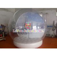 Wholesale Holiday decoration Outdoor Inflatable Tent / Clear Bubble tent Xmas Inflatables from china suppliers