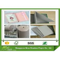 Wholesale Foldable Unbleached Strawboard Paper two side grey in rolls and sheets from china suppliers