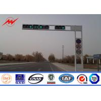 Wholesale Octagonal Tapered 6m Highway Light Pole For Road Traffic Light 15 Years Warranty from china suppliers