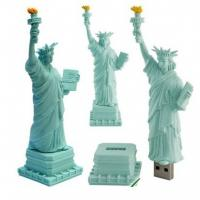 Wholesale Bespoke pvc material Statue of Liberty USB Flash Drive from china suppliers