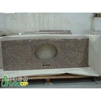 Wholesale G687 Peach Bolosom Granite Bathroom Vanity Top from china suppliers