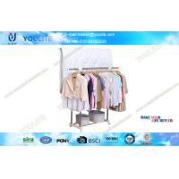 Wholesale Commercial Deluxe Outdoor Clothes Drying Rack Free Standing Double-pole from china suppliers