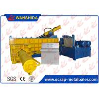 Wholesale PLC Automatic Hydraulic Metal Baler Scrap Metal Baling Press Side Push Out 250Ton Force 90kW from china suppliers