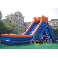 Wholesale 50M Giant Outdoor Inflatable Slides Hippo Security  Waterproof For Beach from china suppliers