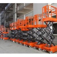 Wholesale 1.2 - 7.5 m Lifting Height scissor car lift bridge working under 1.1kw from china suppliers