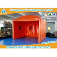 Wholesale Orange Oxford Outside Small Inflatable Bubble Tent For Party / Event from china suppliers