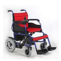 Wholesale 12 Inch 250W Indoor Outdoor Powered Wheelchairs 15KM - 20KM Driving Range from china suppliers
