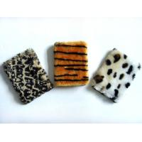 Wholesale Leopard Plush Cardboard Cover Notebook Writing Journal / Personalized Soft Cover Notebooks from china suppliers