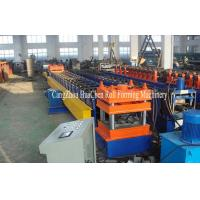 Wholesale Gear Box Drive Twice Wave Guardrail Roll Forming Machine PLC Control from china suppliers