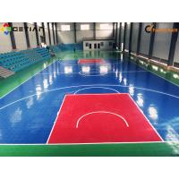 Buy cheap Interlocking PP Portable Volleyball Sport Court Flooring Eco-Friendly from wholesalers