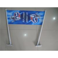 Wholesale Double Sides Shop Front Flags , End Sign Flags 80cm Length Pole from china suppliers