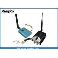 Wholesale 10KM LOS 2.4Ghz FPV Video Transmitter , Wireless Video Sender For UAV Transmission from china suppliers