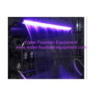 Wholesale Stainless Steel Waterfall Fountain With RGB LED Color Lamp Inside AC24V from china suppliers