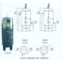 Steel Air Compressor Tank Vertical Type , Small Portable Compressed Air Tank
