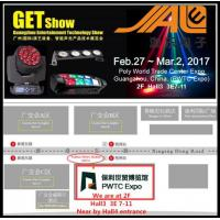 Quality 2017  DJ Stage Lights Fair Invitation of GET Show , LED Stage Lighting for sale
