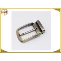 Wholesale Environmental Safety Plating Reversible Belt Buckle With CNC Engrave Logo from china suppliers