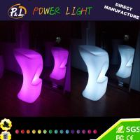 Wholesale Event Color Changing plastic bar stools from china suppliers