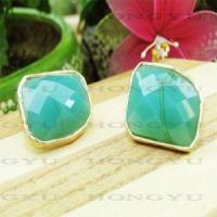 Wholesale Green Rhinestone Earrings from china suppliers