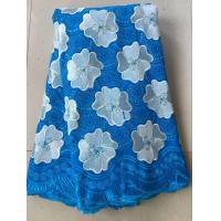 Wholesale Light blue china swiss voile lace sunflower cotton special swiss voile dry lace for clothes from china suppliers