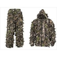 China Camouflage Leafy Hunting Suit Camouflage Leafy Suit Realtree 3D Camo Clothing for sale