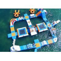 Wholesale Safe Ocean Inflatable Water Parks / Floating Water Playground from china suppliers