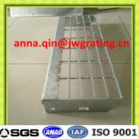 Wholesale Bolt fixed type steel grating stair treads from china suppliers