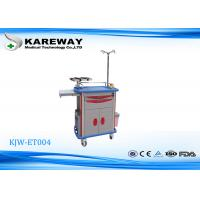 Wholesale Durable Emergency Medicine Trolley Cart , Stainless Steel Medical Cart With Drawer from china suppliers