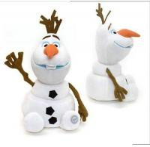 Quality Orignal Disney Frozen Olaf Snowman Plush Stuffed Toys Eco Friendly for sale