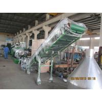 China High Automatic Pet Bottle Recycling Machine , Double Ladder Type Recycling Granulator Machine on sale