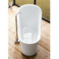 Wholesale 1 Person Elegant Acrylic Free Standing Bathtub Oval Soaking Tub Multiple Colors from china suppliers