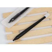 Buy cheap Disposable Microblading Manual Pen with #18 U Blade & Brush from wholesalers