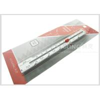 Wholesale 6inch / 12.7cm Aluminum Sewn Knitting Gauge With Screen Printing from china suppliers