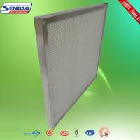 Wholesale Laboratory Mini Pleated Panel Hepa Air Filters Galvanized Frame Absolute from china suppliers