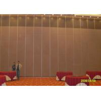 Wholesale Hotel Sliding Partition Walls , Folding Wall  Sound Proof Door No Floor Track from china suppliers