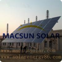 Buy cheap Macsun solar Dual-axis Tracking System MS-PV-SDT35 from wholesalers