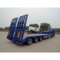 Wholesale Heavy Duty 3 Axles Low Bed Semi Trailer For Tracked Vehicles Customized from china suppliers