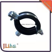 Wholesale Stainess Steel Pipe Holder Bracket Rubber Lined Split Clamp 304 Pipe Clip from china suppliers