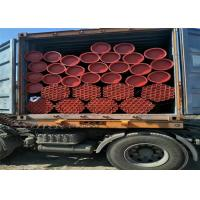 Wholesale ASTM A53/ASTM A500 Carbon Metal Steel Pipe With Red Paint And Groove Ends from china suppliers