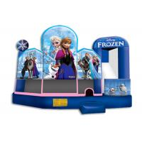 Wholesale Waterproof Frozen Inflatable Jumper / 5 in 1 Inflatable Party Castle Bounce House from china suppliers