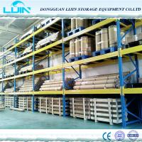 Wholesale Cargo Storage Heavy Duty Pallet Racks , Customized Industrial Metal Shelving from china suppliers